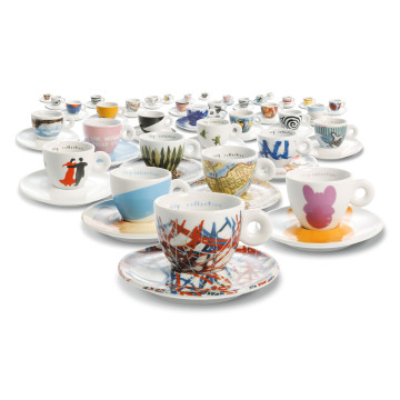 gruppo di tazzine illy art collection